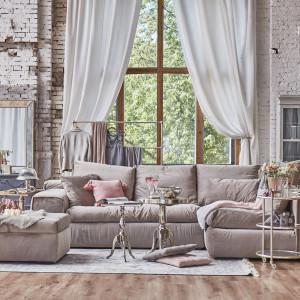 Klimat romantyczny z domieszką stylu loft. Fot. Miloo Home