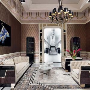 Wnętrze w stylu glamour. Fot. Galeria Heban