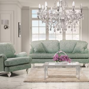 Sofa i fotel z kolekcji Grace. Fot. New Elegance
