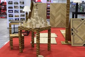 Meble dla dzieci mogą powstać... z drewnianych klocków