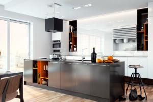 Laminat szklany w kuchni - rozwiązanie praktyczne i estetyczne