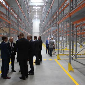 Nowootwarta część Centrum Logistycznego Logistic firmy Szynaka Meble. Fot. Szynaka Meble