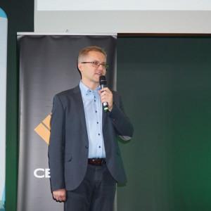 Robert Skomorowski z firmy Purmo. Fot. Urszula Tatur