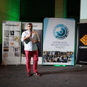 Krzysztof Kopyczyński z firmy Finishparkiet. Fot. Urszula Tatur
