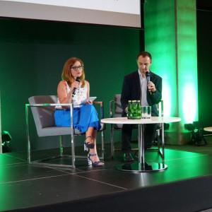 Katarzyna Zajchowska i Rafał Janus z firmy Massi. Fot. Urszula Tatur