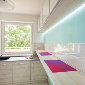 Taśmy LED świetnie sprawdzają się jako oświetlenie stref roboczych w kuchni. Fot. GTV