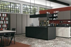 Otwarte półki w kuchni - praktyczne i dekoracyjne