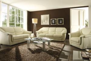 Sofa zestawiona z fotelem - stwórz swój komplet wypoczynkowy!