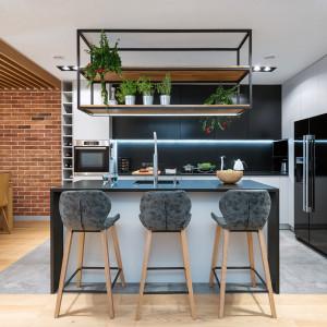 Dla lubiących trendy - kuchnia w stylu loft. Fot. Studio Wach/Max Kuchnie