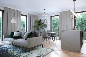 Klasyka w nowoczesnym wydaniu - zobacz jak umeblowano warszawski apartament!
