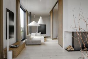 Minimalizm, geometria i światło - zobacz wnętrze w japońskim stylu!