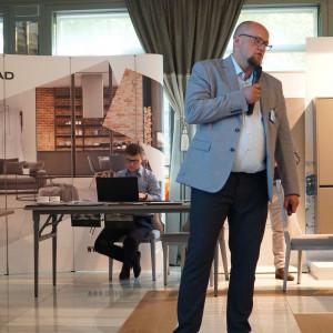 Artur Sieczka, reprezentant firmy Cerrad
