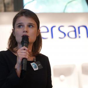 Katarzyn Kosińska, reprezentant firmy Wiór, dystrybutor marki Blum