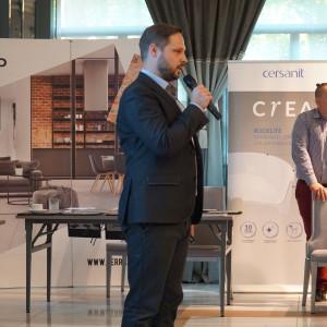 Piotr Wychowaniec, reprezentant firmy Cersanit
