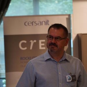 Stanisław Wójcik, reprezentant firmy Rejs