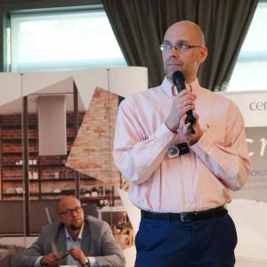 Bartek Perkowski, reprezentant firmy Stabart. Fot. Radosław Zieniewicz