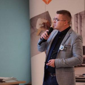 Grzegorz Gregier, reprezentant firmy Niemann. Fot. Radosław Zieniewicz
