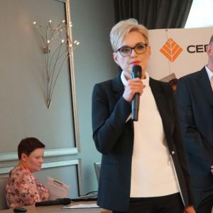 Joanna Bołtromiuk, właściciel Manufaktury Drewna Olga, dystrybutor marki ter Hürne. Fot. Radosław Zieniewicz