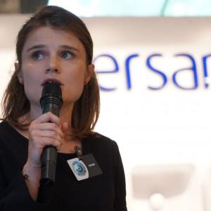 Katarzyn Kosińska, reprezentantka firmy Wiór, dystrybutor marki Blum. Fot. Radosław Zieniewicz
