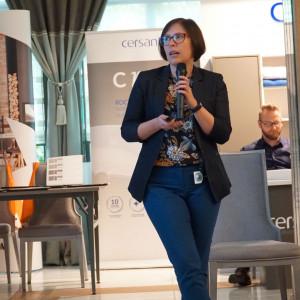 Karolina Kabot, reprezentantka firmy Szkilnik Design. Fot. Radosław Zieniewicz