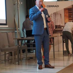 Mariusz Lubiński, reprezentant firmy Netto. Fot. Radosław Zieniewicz