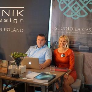 Stoisko firm La Casa i Polish Floors. Fot. Radosław Zieniewicz