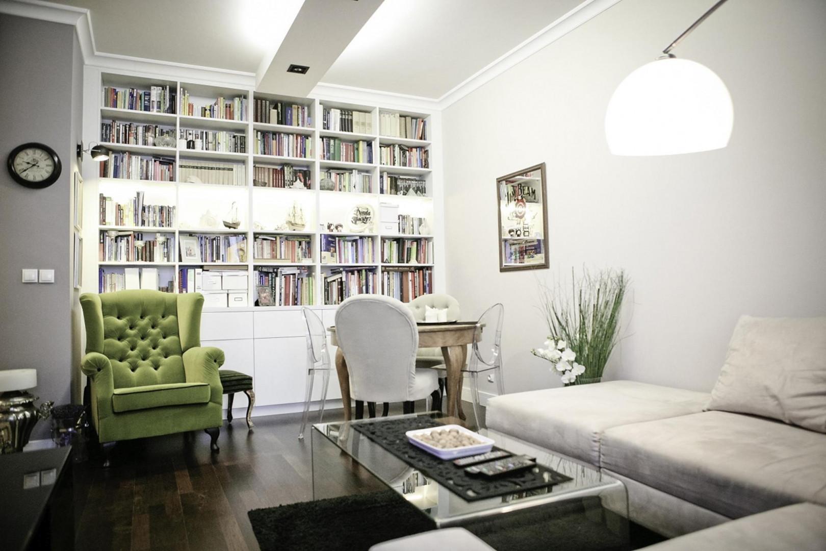 Niewielkie mieszkania wymagają rozwiązań, dzięki którym zagospodarujemy każdy centymetr dostępnej powierzchni. Fot. The Space