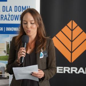 Justyna Mroczek z firmy Fargotex