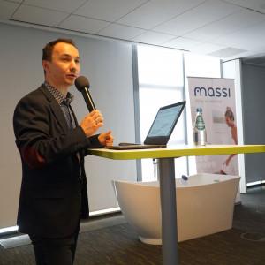 Rafał Janus z firmy Massi