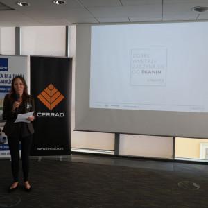 Justyna Mroczek z firmy Fargotex.
