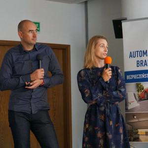 Monika i Adam Bronikowscy - goście specjalni Studia Dobrych Rozwiązań w Warszawie.