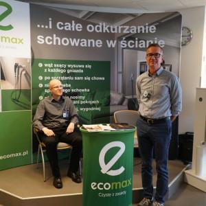Stoisko firmy Ecomax.