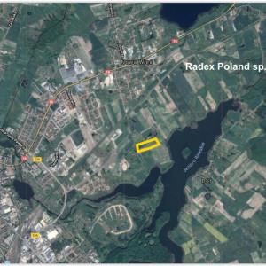 Lokalizacja inwestycji Radex Poland