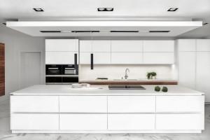 Minimalistyczna kuchnia - zobacz piękną realizację prosto z Londynu!