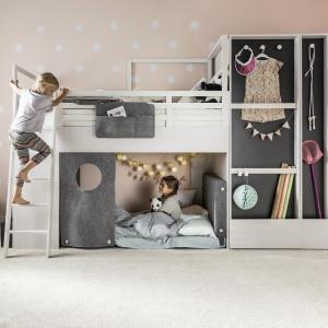 Kolekcja Nest (Vox) - łóżko pietrowe połączone z szafą. Fot. Vox