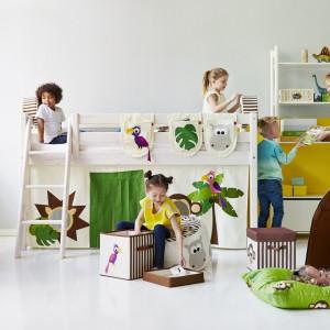 Pokój dziecięcy zachęcający do zabawy. Fot. Flexa