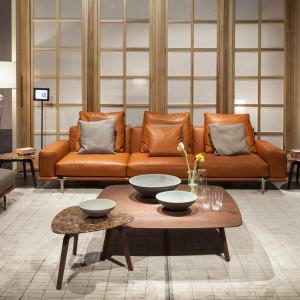 Sofa Let it be firmy Poltrona Frau. Projekt: Ludovica i Roberto Palomba. Fot. Poltrona Frau