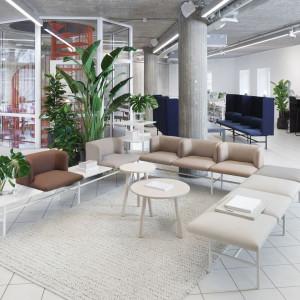 Kolekcja biurowych mebli soft seating