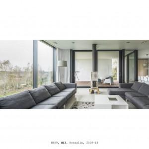 Dom jednorodzinny H13. Koszalin 2013. Projekt: HS99. Fot. J. Certowicz