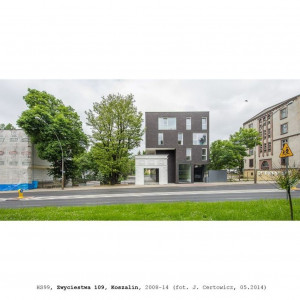 Budynek mieszkalno-usługowy Zwycięstwa 109 (ZW109), Koszalin 2014. Projekt HS99. Fot. J. Certowicz