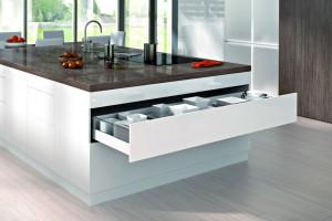 Funkcjonalne kuchenne szuflady o zwiększonej szerokości