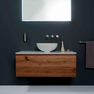 Meble do minimalistycznej łazienki. Fot. Grandform