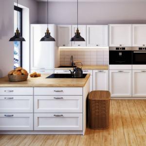 Półwysep kuchenny - model