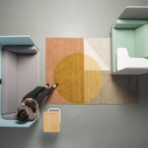 Soft seating Play&Work, projekt: Studio WertelOberfell. Fot. Grupa Nowy Styl