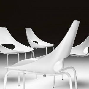 Krzesło Echo marki Metalmobil. Fot. Dekorian