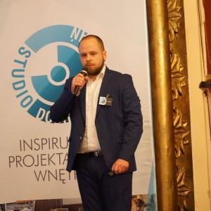 Maciej Kruwczyk, przedstawiciel Fibaro. Fot. Katarzyna Zacharewicz-Łukaszuk