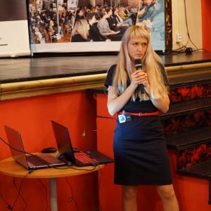 Małgorzata Kubaszewska reprezentująca firmę CAD Projekt K&A. Fot. Katarzyna Zacharewicz-Łukaszuk