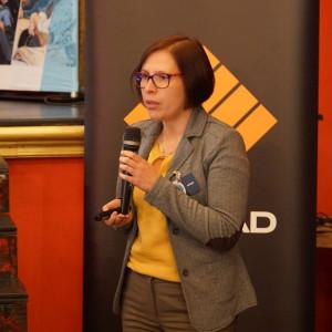 Karolina Kabot, przedstawiciel marki Szkilnik Design. Fot. Katarzyna Zacharewicz-Łukaszuk