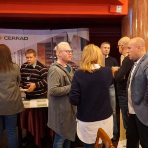 Stoisko firmy Cerrad - partnera głównego spotkania. Fot. Katarzyna Zacharewicz-Łukaszuk