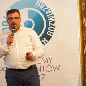 Krzysztof Kopyczyński z firmy Finishparkiet. Fot. Katarzyna Zacharewicz-Łukaszuk
